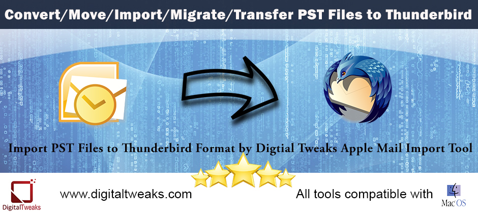 how to migrate Apple Mail to thunderbird