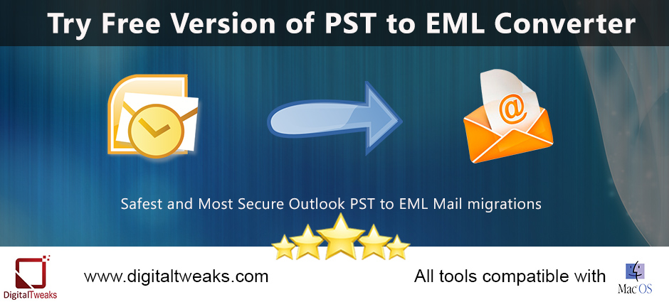 convert pst to eml free