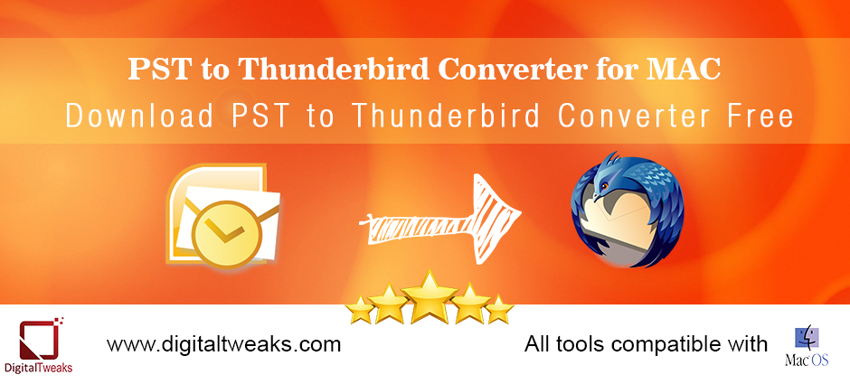 PST to Thunderbird